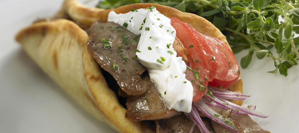 Gyro on Pita Bread - One of our Bestsellers